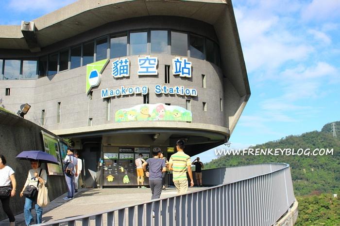 Tujuan Akhir Gondola ke Maokong Station